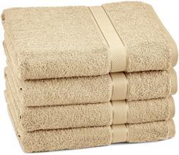 Pinzon 4 Piece Egyptian Cotton Bath Towels Set - Driftwood