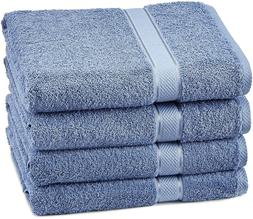 Pinzon Egyptian Cotton Bath Towel Set  - Wedgewood/Lt. Blue