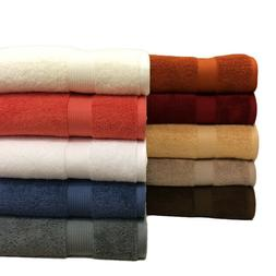 Plush 100% Cotton Towels Solid 2PC Ultra-Soft Absorbent Bath