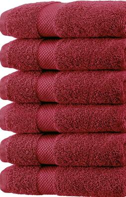 "SPRINGFIELD LINEN Premium 100% Cotton Soft-Bath Towels 27""X5"