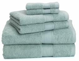 Ariv Collection Premium Bamboo Cotton 6-Piece Towel Set Natu