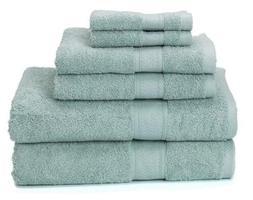 Ariv Collection Premium Bamboo Cotton 6-Piece Towel Set