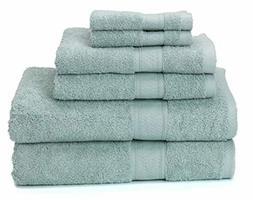 Ariv Collection Premium Bamboo Cotton 6-Piece Towel Set (2 B