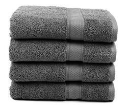 Ariv Collection Premium Bamboo Cotton Bath Towels - Natural,