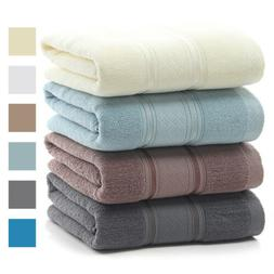 Premium Egyptian Cotton Bath Towels Ultra Plush Soft Absorbe