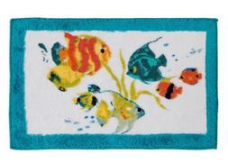 Creative Bath R1073MULT Rainbow Fish Bath Towel