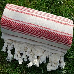Dandelion - Ivory Basic Pattern - Naturally-Dyed Cotton Turk