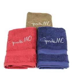Set of 6 Makeup remover washcloth. Turkish Cotton perfect fo