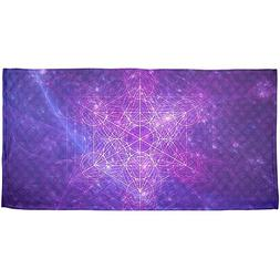 Old Glory Sacred Geometry Metatron Cube Map of Creation All