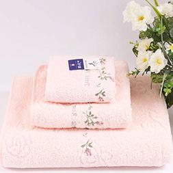 Hiibaby® 3 Pcs / Set Kingshore Pink/Yellow/Blue 100% Cotton