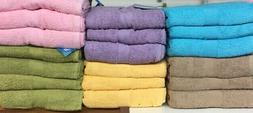 """Set of 2 Large Cotton Terry Bath Sheets, Beach Towels, 35"""" x"""
