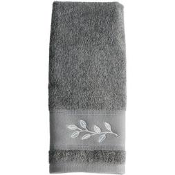 Mainstays Silver Leaves Cotton Terry Bath Towel