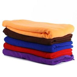 Solid Supersoft Microfiber Beach Home Towel Bath Towel Extra