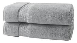 LOFT by Loftex Sopht Solid Bath Towel, Soft Silver