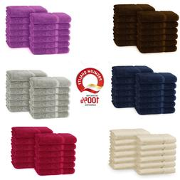 Soulmate 100% Cotton Luxury Large Washcloths / Face towels