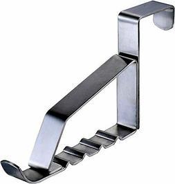 stainless steel over door purse