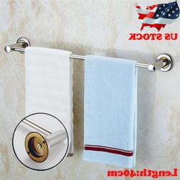 Stainless Steel Towel Rack Bar Rail Wall Mounted Holder Bath