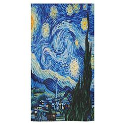 Stylish And Customized Soft And Comfortable Starry Night Bat