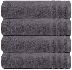 Glamburg Super Soft Zero Twist 4 Piece Oversized Bath Towel