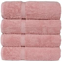 Superior Long-stable Turkish Cotton 4-Piece Bath Towels, Eco