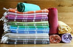 Swan Comfort Turkish Peshtemal Cotton Swimsuit Cover Up, Bat