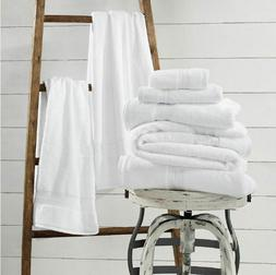 1888 Mills Sweet South White Bath Towel - Choose Size: USA M