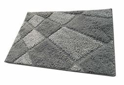 Temperament Gray Bath Mats Bathroom Rugs Kitchen Mat Car Rug