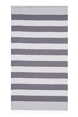 Lushrobe Terry Beach Cotton Towel - Lightweight and Large Pe