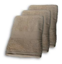 THREE PRIEMIER HOTEL TOWELS LUXURIOUS BATH SHEET 100% RINGSP