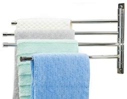 Towel Racks for Bathroom - Stainless Steel Swing Out Towel B