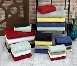 Towel Set 8 Piece Set Bath Towel Hand Towel Washcloth Also i