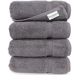 4 Pcs Turkish Bath Towel Luxury Hotel & Spa Cotton Organic E