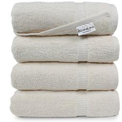 4 Piece Turkish Bath Towels Luxury Hotel & Spa Cotton Organi