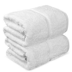 Towel Bazaar 100% Turkish Cotton Bath Sheets, 700 GSM, 35 x