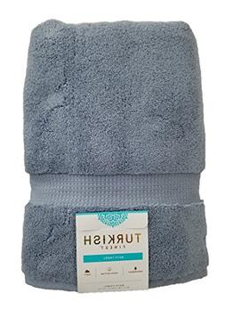 Luxury Turkish Finest Cotton Bath Towel 770 GSM Blue