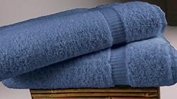 "SALBAKOS Turkish Luxury Hotel & Spa 30""x60"" Bath Sheet Set o"