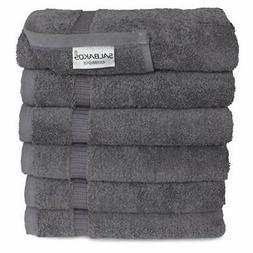 SALBAKOS Luxury Hotel & Spa Turkish Cotton 6-Piece Eco-Frien