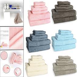 Ultra Soft Absorbent Bathroom Towel Hotel Towels Set 100% Pl