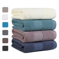 Ultra Soft Plush Egyptian Cotton Bath Towels Luxury Large Ba