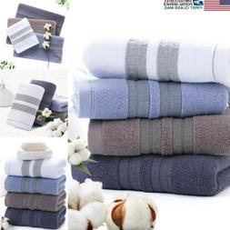 US Pure 100% Egyptian Cotton Bathroom Towels Bath Sheet Bale