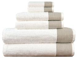 LUNASIDUS Venice Luxury Hotel & Spa Premium 6 pcs Bath Towel