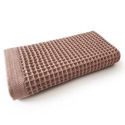 K-25 Waffle Bath Towel, Large, Ultra Absorbent, Fast Dry, So