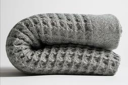 Nutrl Home | Waffle Weave Bath Towel Set | Antimicrobial, 10