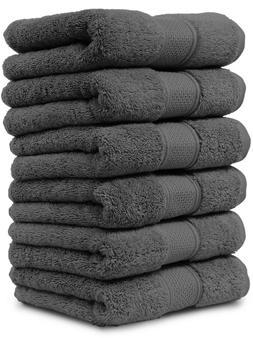 Maura Washcloths Set 13x13 Face Cloth Thick Soft Plush Absor