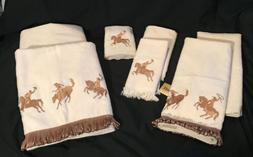 AVANTI WESTERN COWBOY & HORSE FRINGE BATH, Hand, Finger Tip,