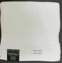 Ralph Lauren White Bath Towels Greenwich Choose Bath, Hand T