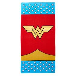 Franco Wonder Woman Fight for Rights Beach Towel