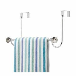 InterDesign York Over-the-Door Bath Towel Bar Holder Rack, C