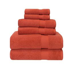 Superior Zero Twist Cotton 6 Piece Towel Set