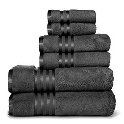 Casa Lino - Premium Quality Zero Twist, Air Soft, 6 Piece To